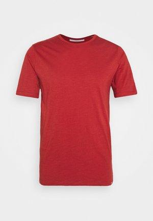 DELTA - T-shirt - bas - red ochre melange