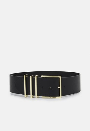 BELT NOT ADJUSTABLE SOFT WAIST BELT - Pásek - black