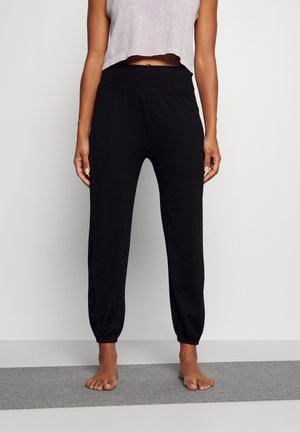 ECO WEAR YOGA PANTS - Pantaloni sportivi - black