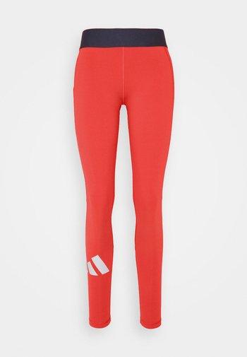 ADILIFE - Legging - crew red/black/white