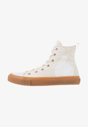 SWALLOW PLIMSOLL  - Sneakersy wysokie - oyster/white
