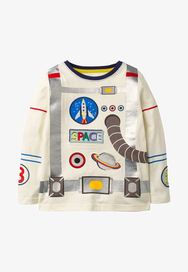 Long sleeved top - naturweiß, astronaut