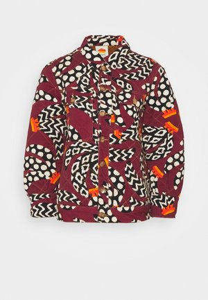 ETHNIC BANANAS JACKET - Lehká bunda - bordeaux