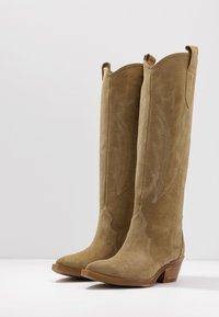 L37 - LET'S GET LOST - Cowboy/Biker boots - tan - 4