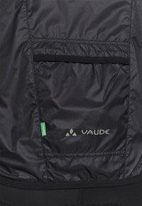 Vaude - MENS AIR JACKET III - Windbreaker - black - 5