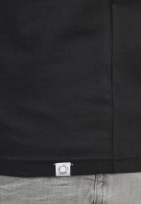 Solid - V-SHIRT BEDO - Basic T-shirt - black - 3