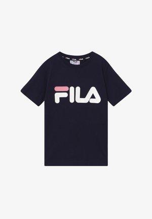 LEA CLASSIC LOGO TEE - Print T-shirt - black iris
