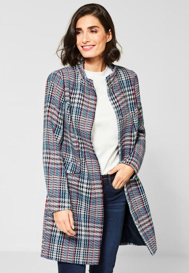 MIT MULTICOLOUR KARO - Short coat - blue