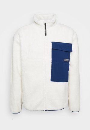 SHALLOW WATER - Fleece jacket - snow white