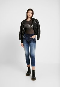 Diesel - UFBY VALERICK BODY - Camiseta de manga larga - black/silver - 1