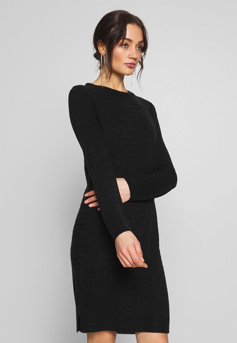 JDY - JDYGADOT TREATS - Strikket kjole - black