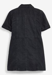 Next - Denim dress - black - 1