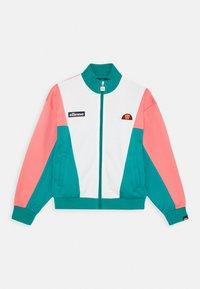 Ellesse - FELICITI - Zip-up hoodie - teal/pink - 0