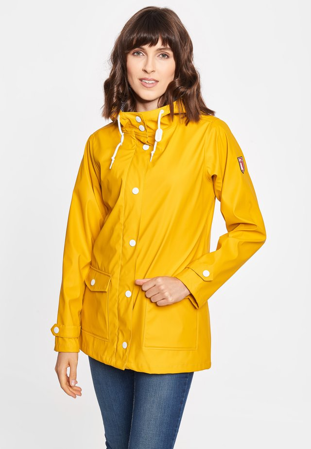 PENINSULA FISHER - Waterproof jacket - yellow