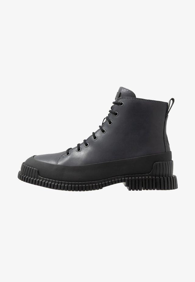 PIX - Bottines à lacets - black