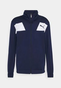 Puma - TECHSTRIPE TRICOT SUIT - Survêtement - peacoat - 1
