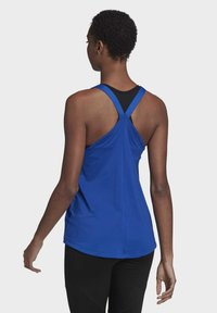adidas Performance - DESIGNED TO MOVE ALLOVER PRINT TANK TOP - Top - blue - 1