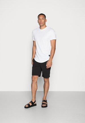 ONSMATT  5 PACK - Basic T-shirt - black/white/blue