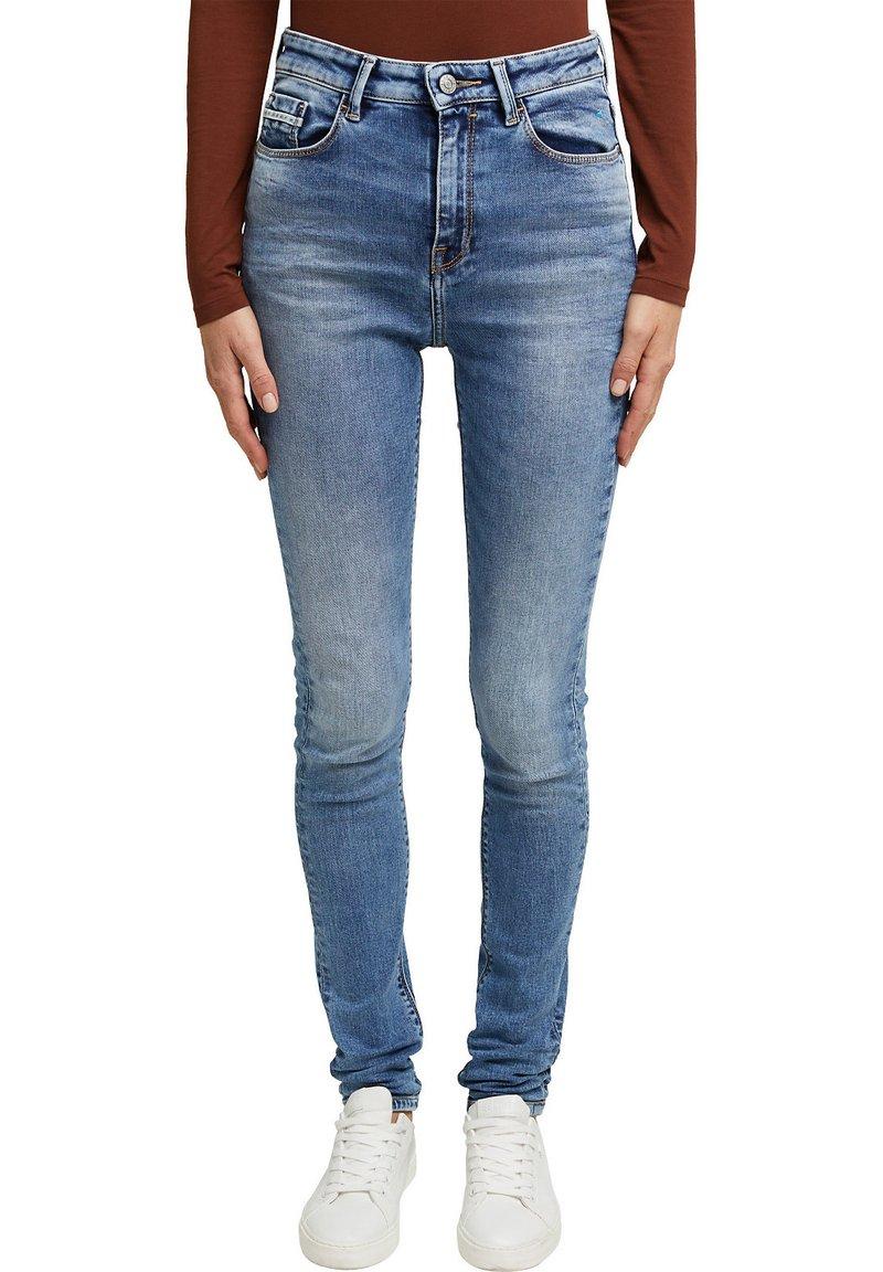 Esprit - Jeans Skinny - blue light washed