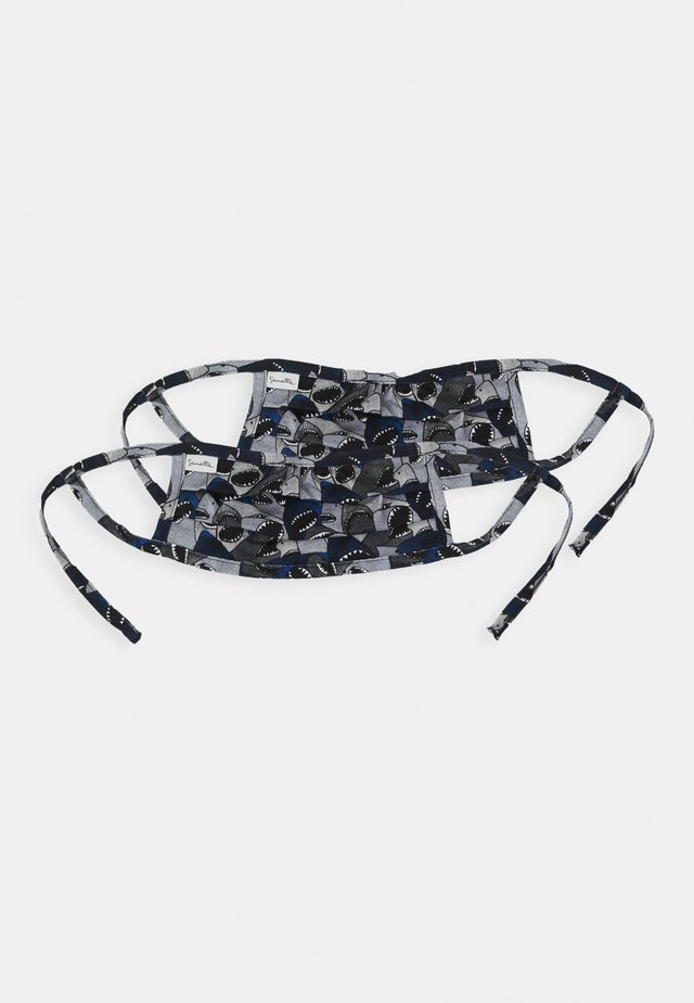 FACEMASK 2 PACK - Munnbind i tøy - dark blue