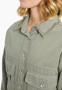 Heartkiss - Denim jacket - khaki - 3
