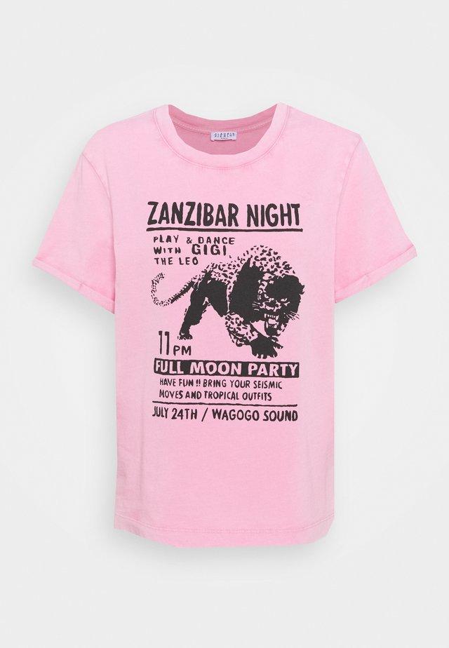 TIGRE - T-shirt print - rose