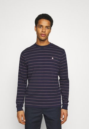 DENTON - Long sleeved top - space/malaga