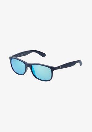 Gafas de sol - shiny blue/green