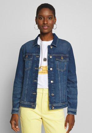 BASIC JACKET - Džínová bunda - medium blue