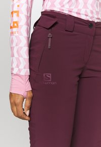 Salomon - THE BRILLIANT PANT - Pantalón de nieve - winetasting - 5