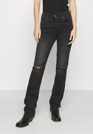 D-SLANDY-BT - Straight leg jeans - grey
