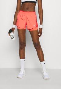 Nike Performance - 10K SHORT - Sports shorts - magic ember/chile red/magic ember/wolf grey - 0