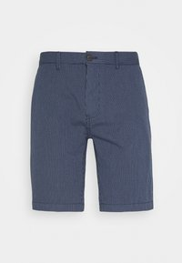Burton Menswear London - SMART FINE STRIPE - Shorts - navy - 3