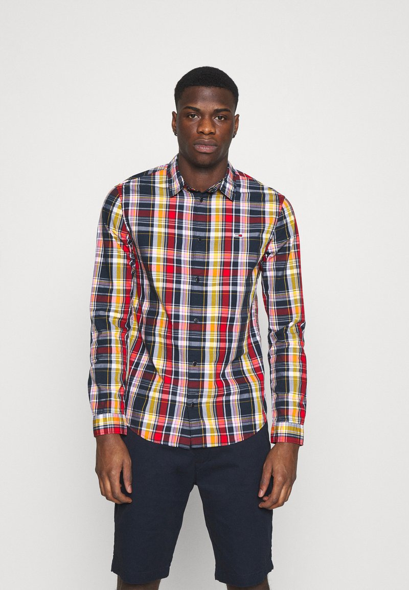 Tommy Jeans - SEASONAL CHECK SHIRT - Camisa - multi-coloured