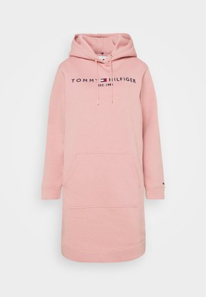 HOODIE DRESS - Kjole - soothing pink