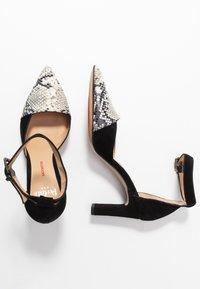 PERLATO - Classic heels - grigio/noir - 3