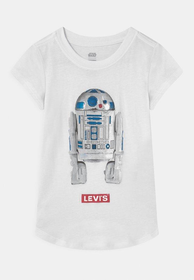 STAR WARS R2D2 - Print T-shirt - white