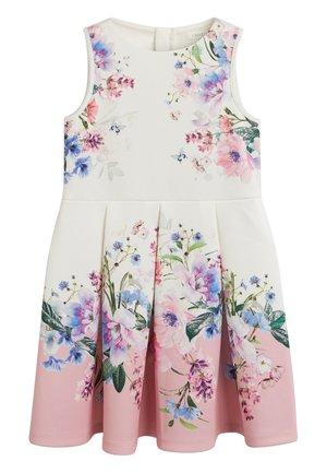 FLORAL SCUBA - Day dress - pink