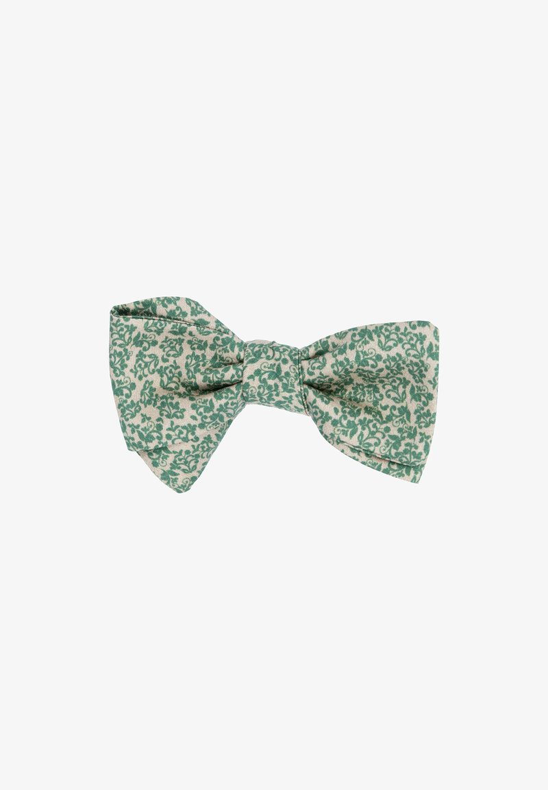 Hans Hermann - SAND FIORE - Bow tie - beige/grün