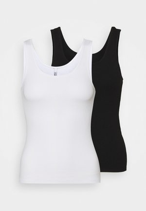 ONLKENYA TANK 2 PACK - Top - black/white