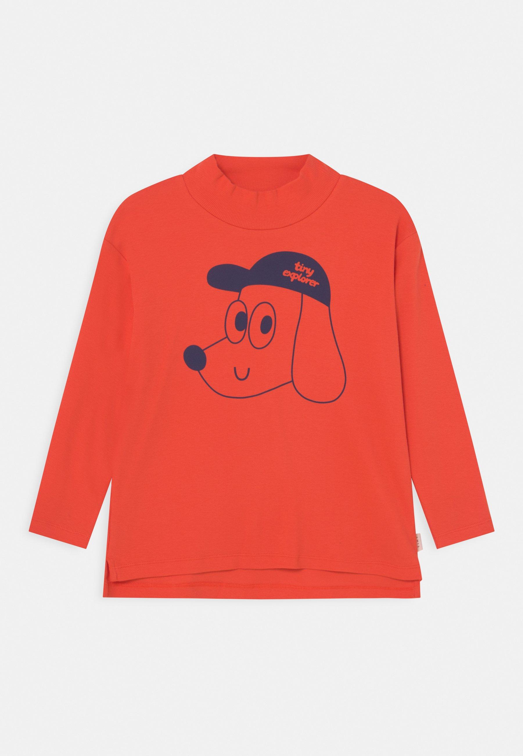 Kids TINY EXPLORER MOCKNECK TEE UNISEX - Long sleeved top