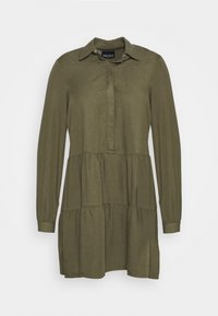 PCRIVER MIX DRESS - Shirt dress - grape leaf