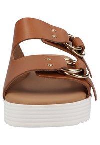 Scapa - Platform sandals - cognac - 6