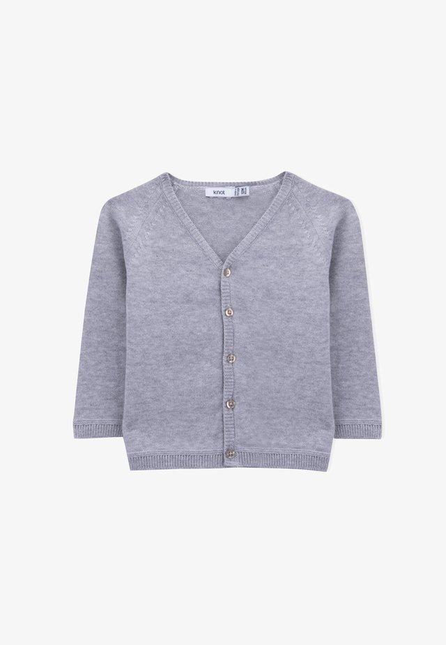 CHAD - Vest - grey