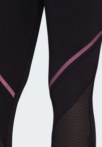 adidas Performance - HOW WE DO LONG LEGGINGS - Tights - black - 6
