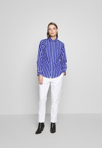 Polo Ralph Lauren - GEORGIA LONG SLEEVE SHIRT - Košile - blue/white - 1