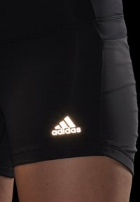 adidas Performance - OWN THE RUN SHORT TIGHTS - Medias - black/reflective silver - 3