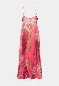 TWINSET - ABITO LUNGO SPALLINA PAISLEY - Day dress - rosa neon - 1