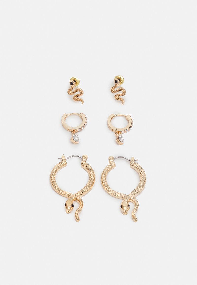 ALDO - SYLITHH 3 PACK - Earrings - clear on gold-coloured