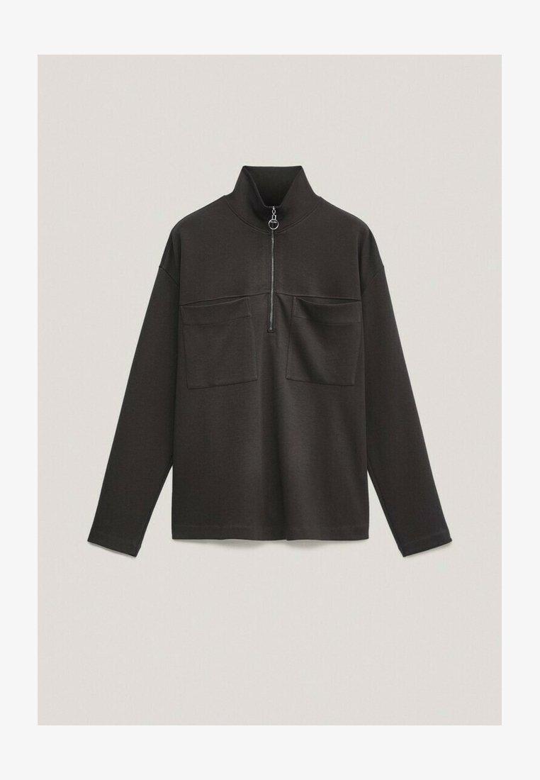 Massimo Dutti - Sweatshirt - dark grey